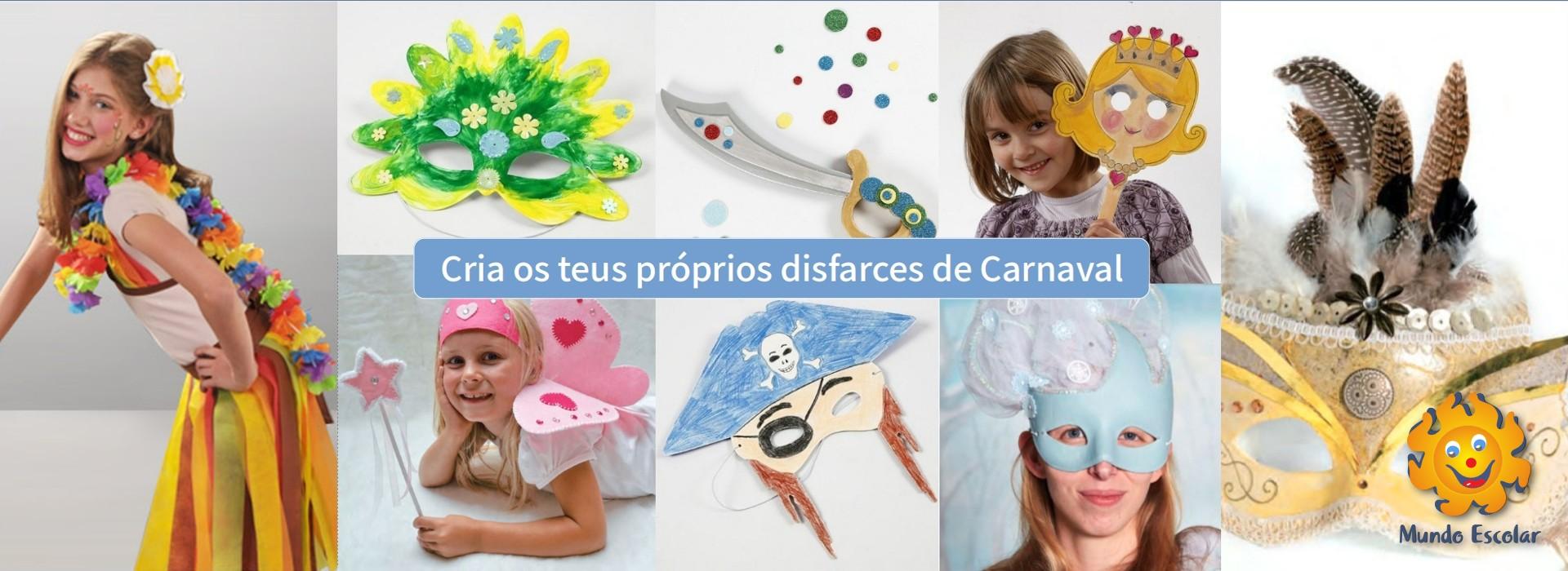 Cria os teus próprios disfarces de Carnaval