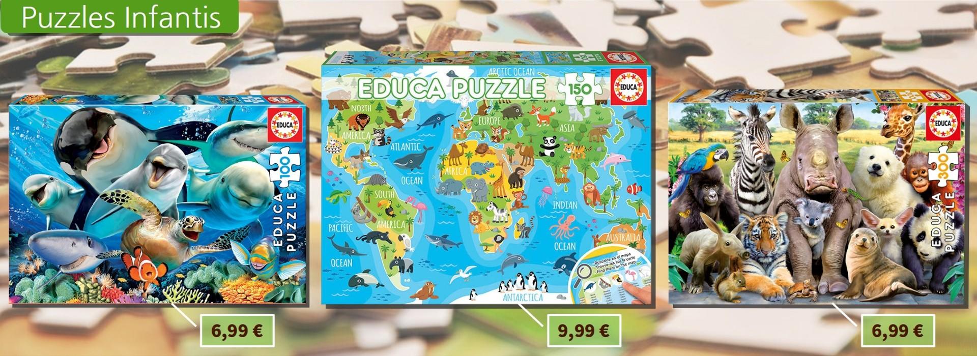 Puzzles Infantis